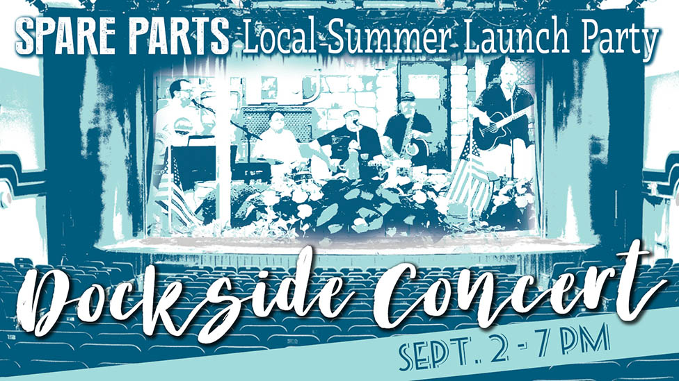 Spare Parts: Local Summer Launch Party